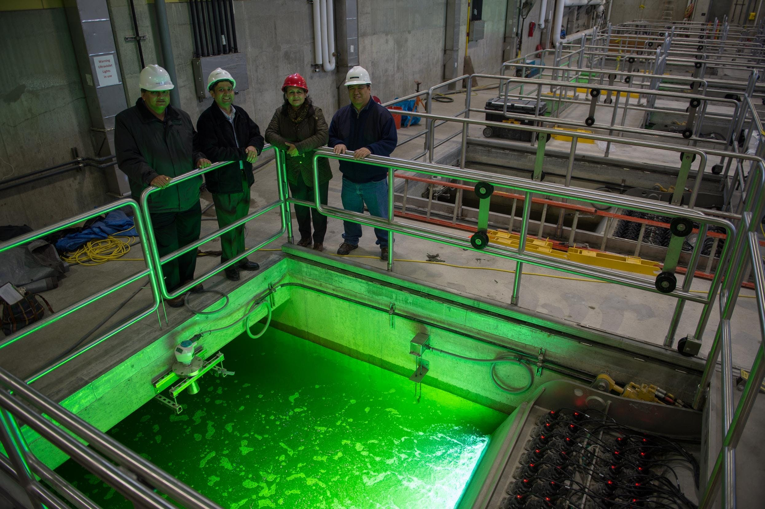 Treating Wastewater with Ultraviolet Rays