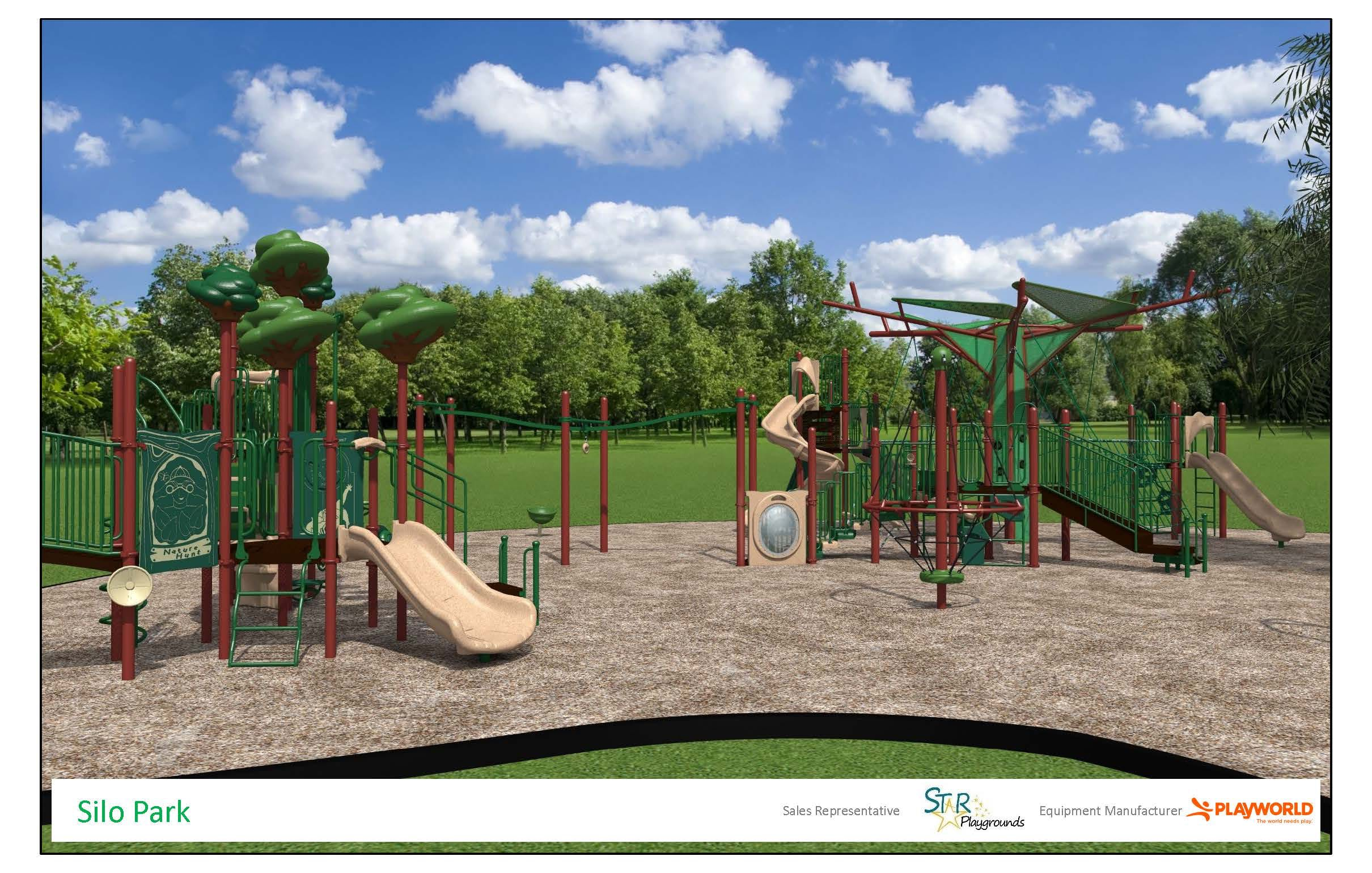 Silo Park Playground Replacement Page 1