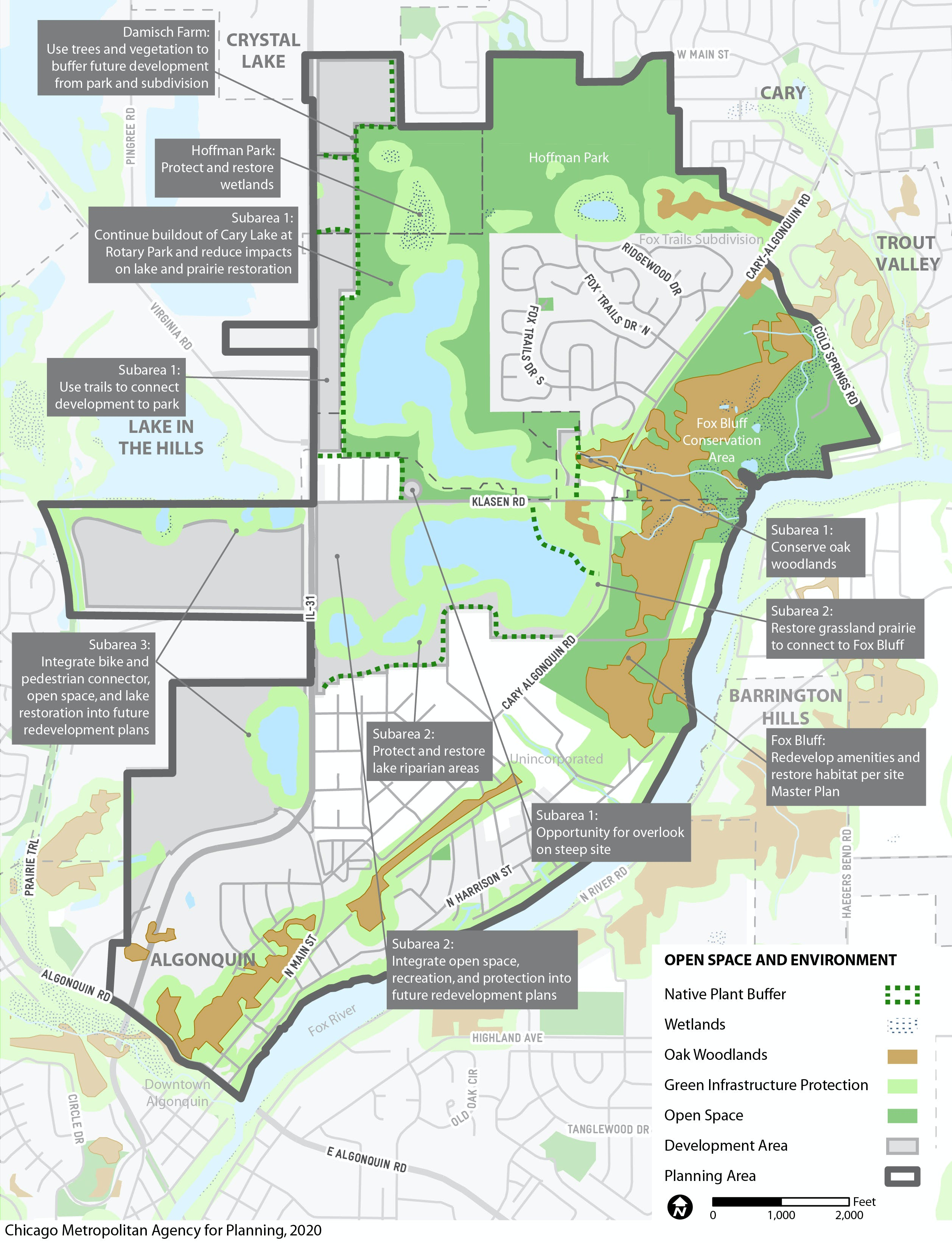 Open Space and Environment plan