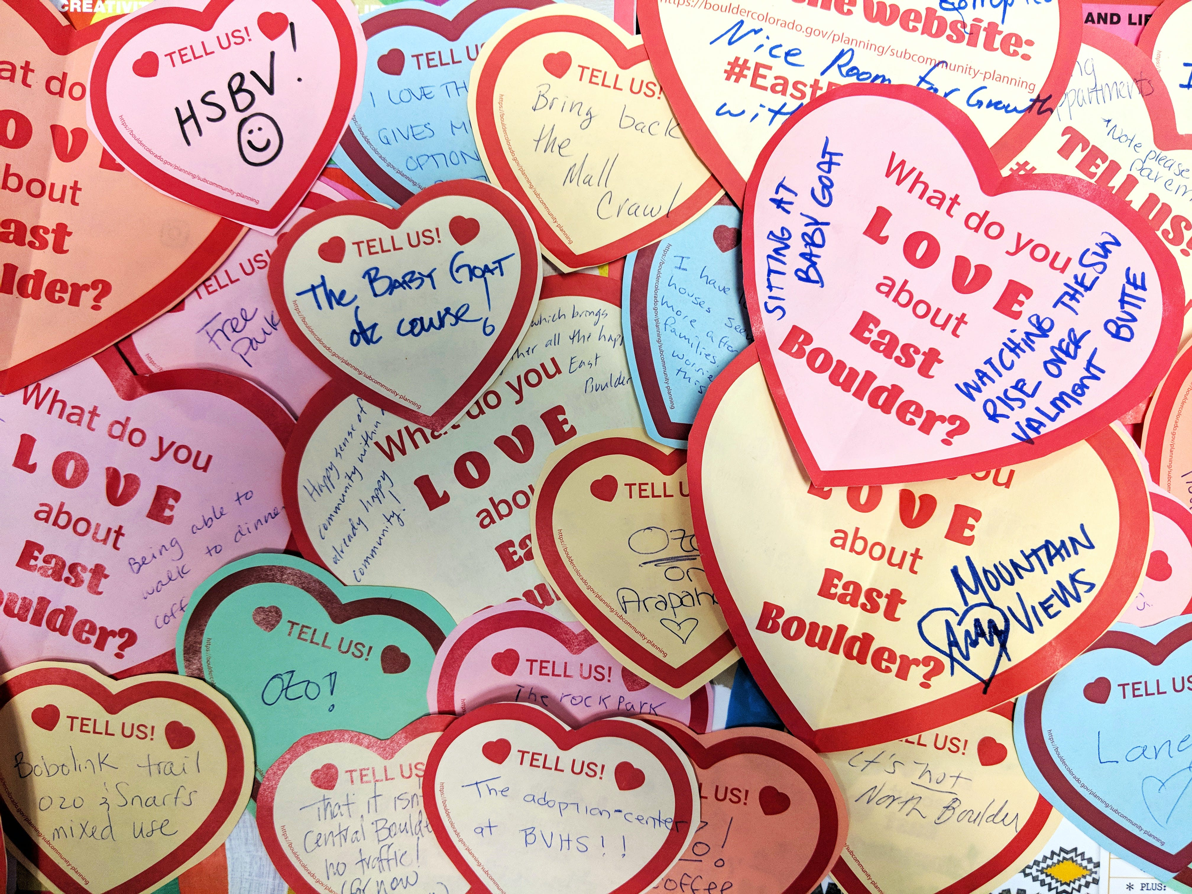 What do you LOVE about East Boulder?