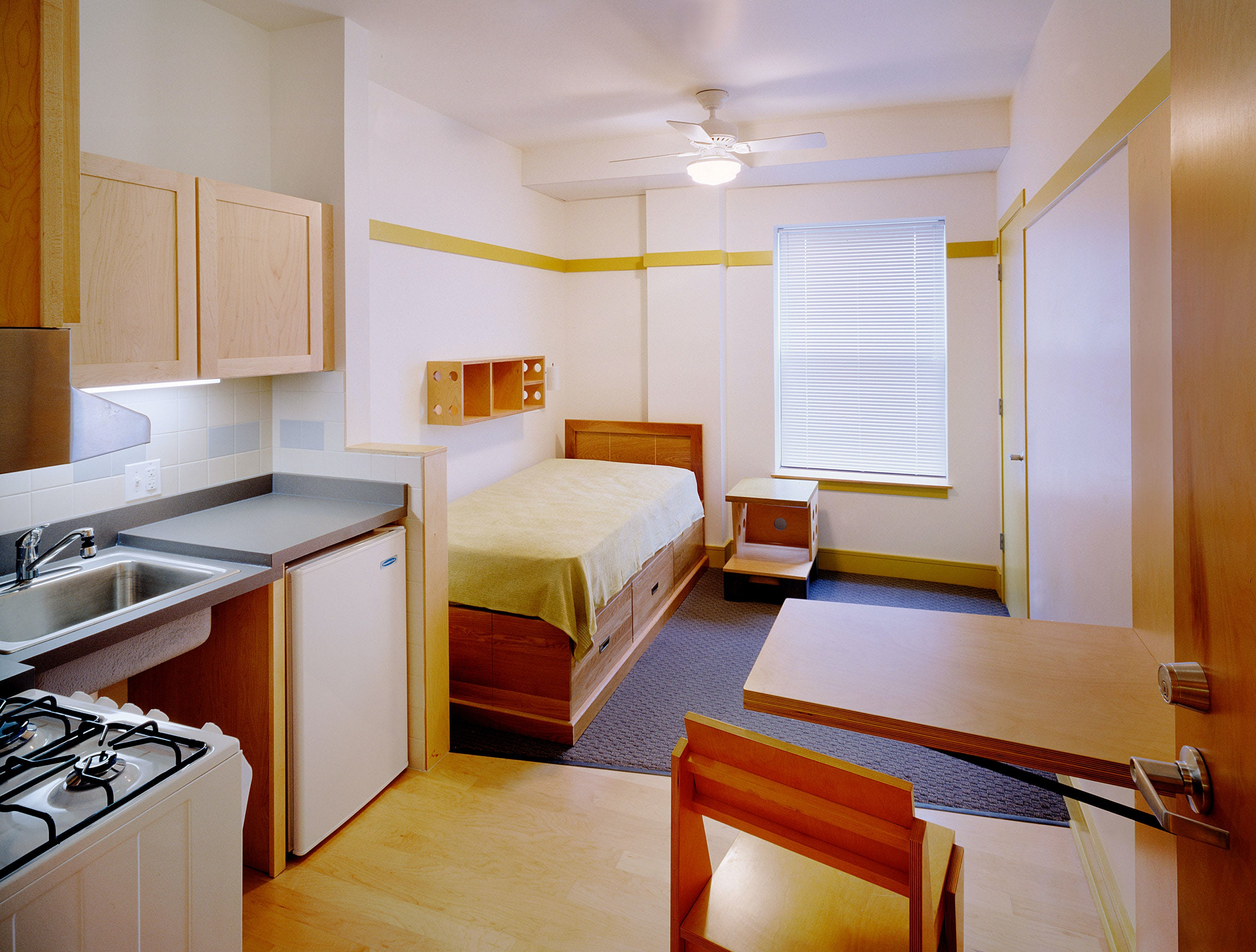 Shared Kitchen/Bathroom Apartments in Multi-family Zones Example 1