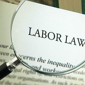 """Labor Law"" viewed through a magnifying glass."