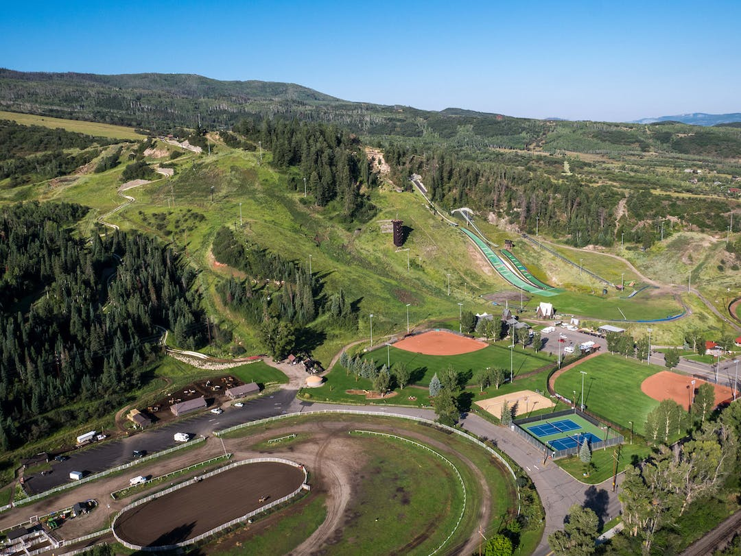 Howelsen Park emcompasses the ice arena to the rodeo complex to the BMX park and up to the top of the historic ski area.