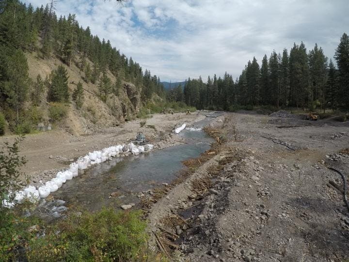 Creek After Full Dam Removal