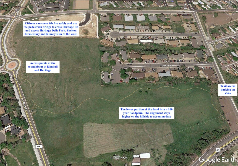 Trail Segment 1 Map