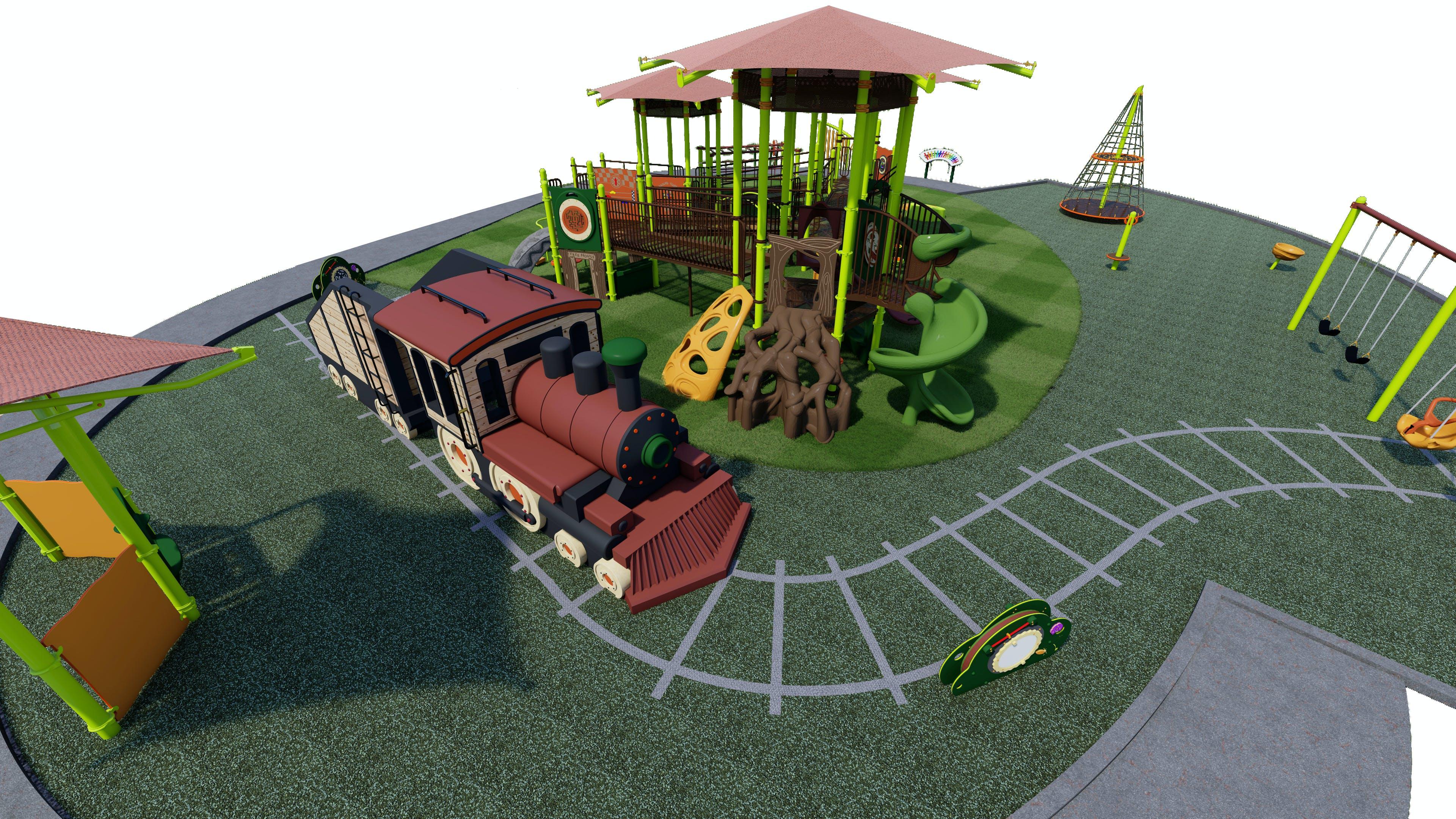 Preferred Playground Design View 3