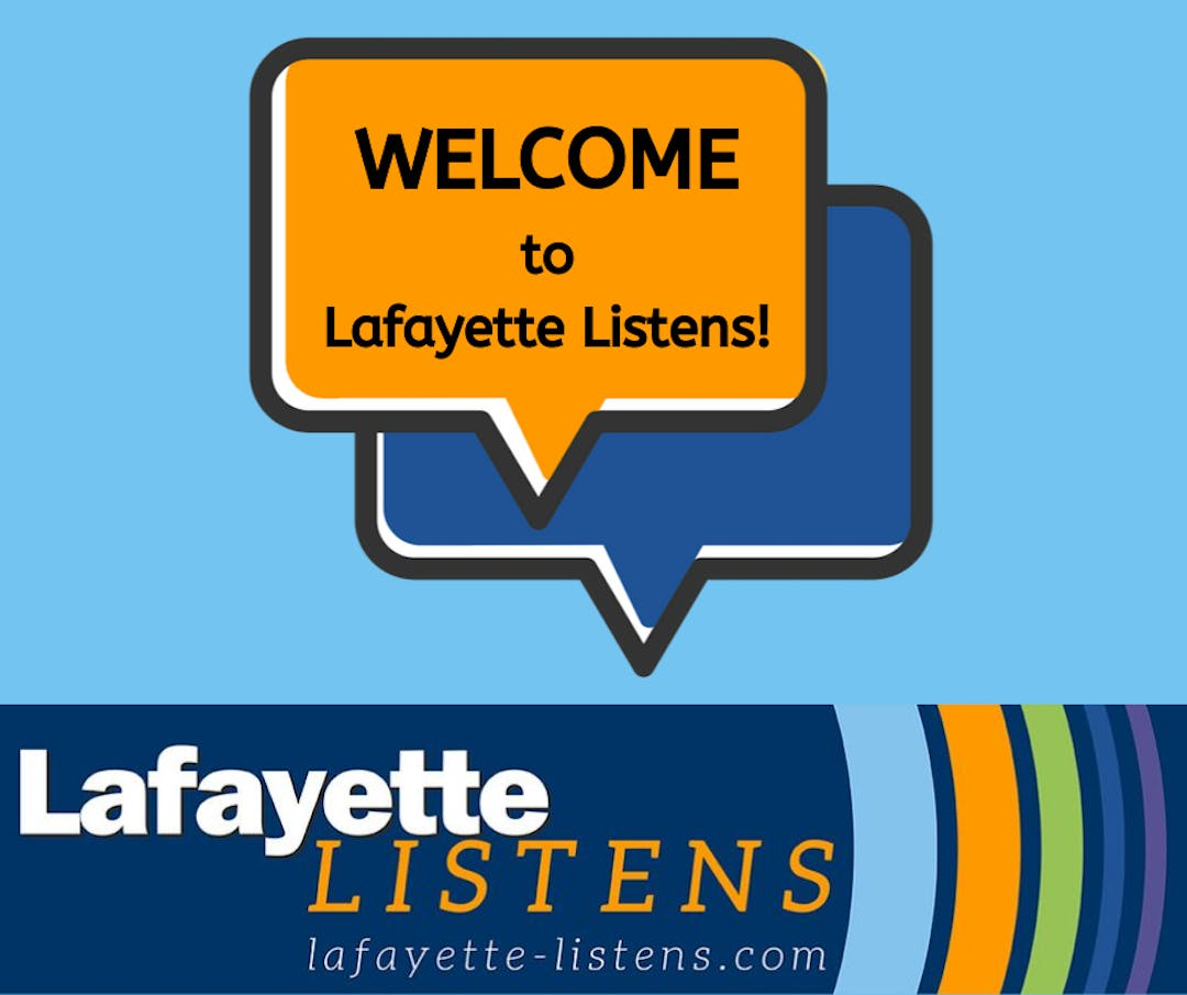 Welcome to lafayette listens