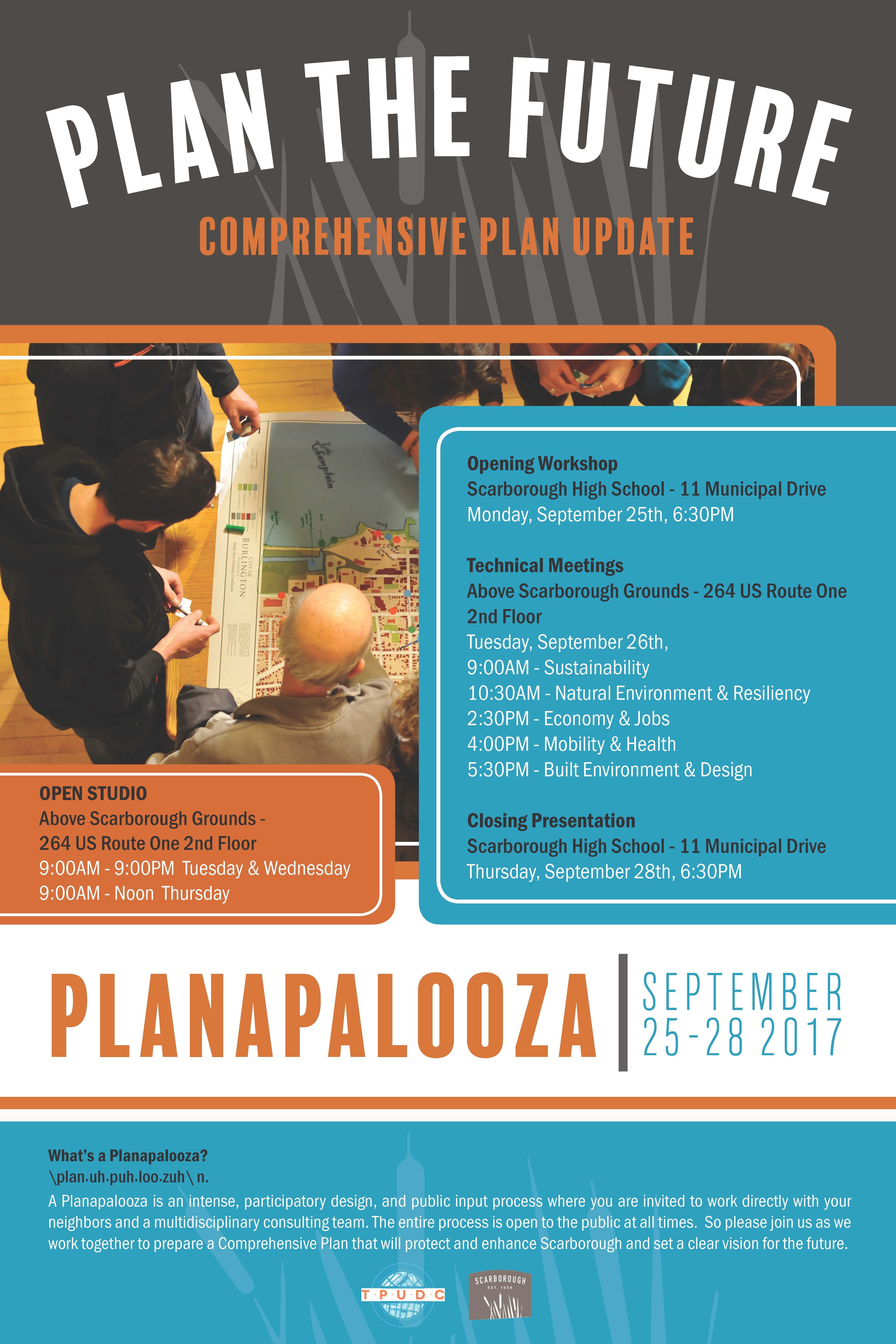 Planapalooza Poster