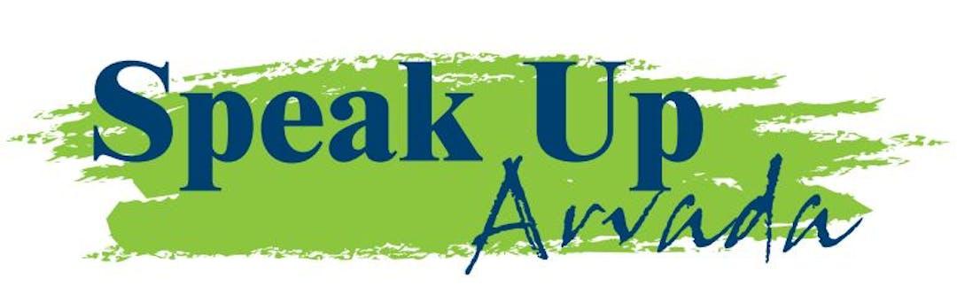 Speak Up Arvada logo