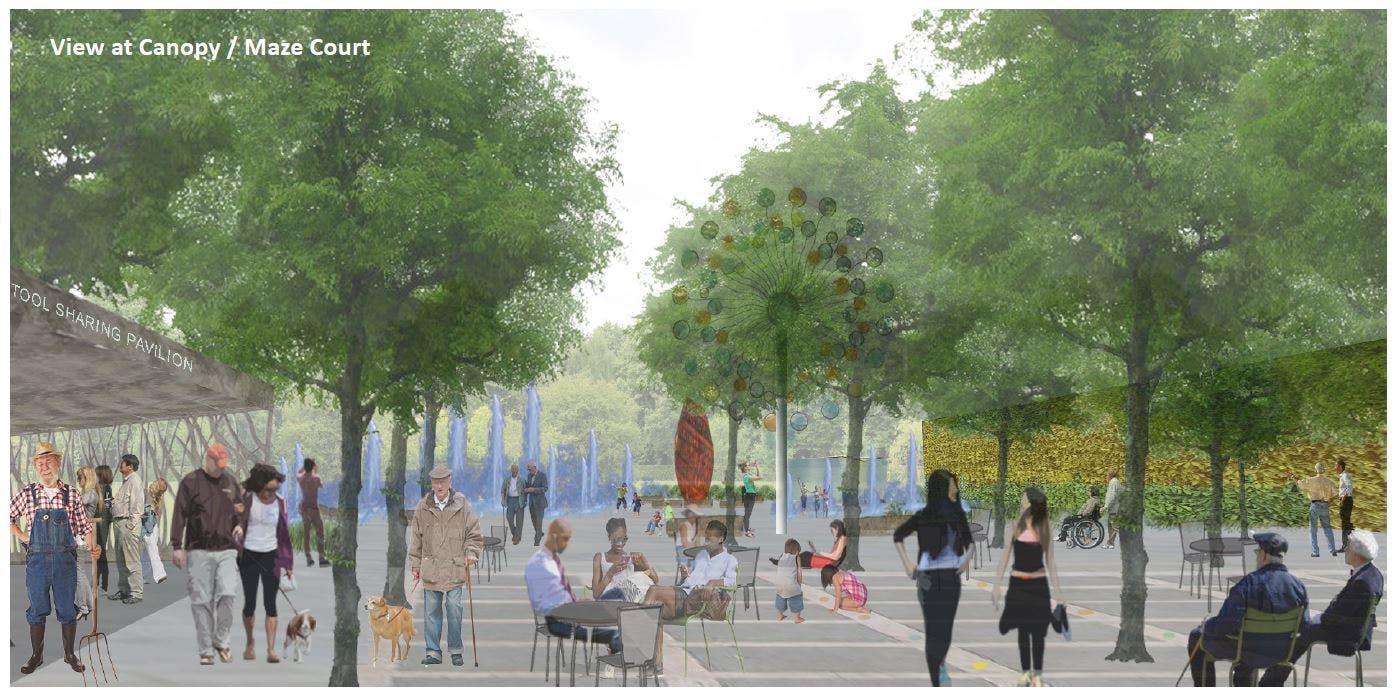 Univeral Plaza Concept