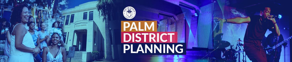Palm District Planning image