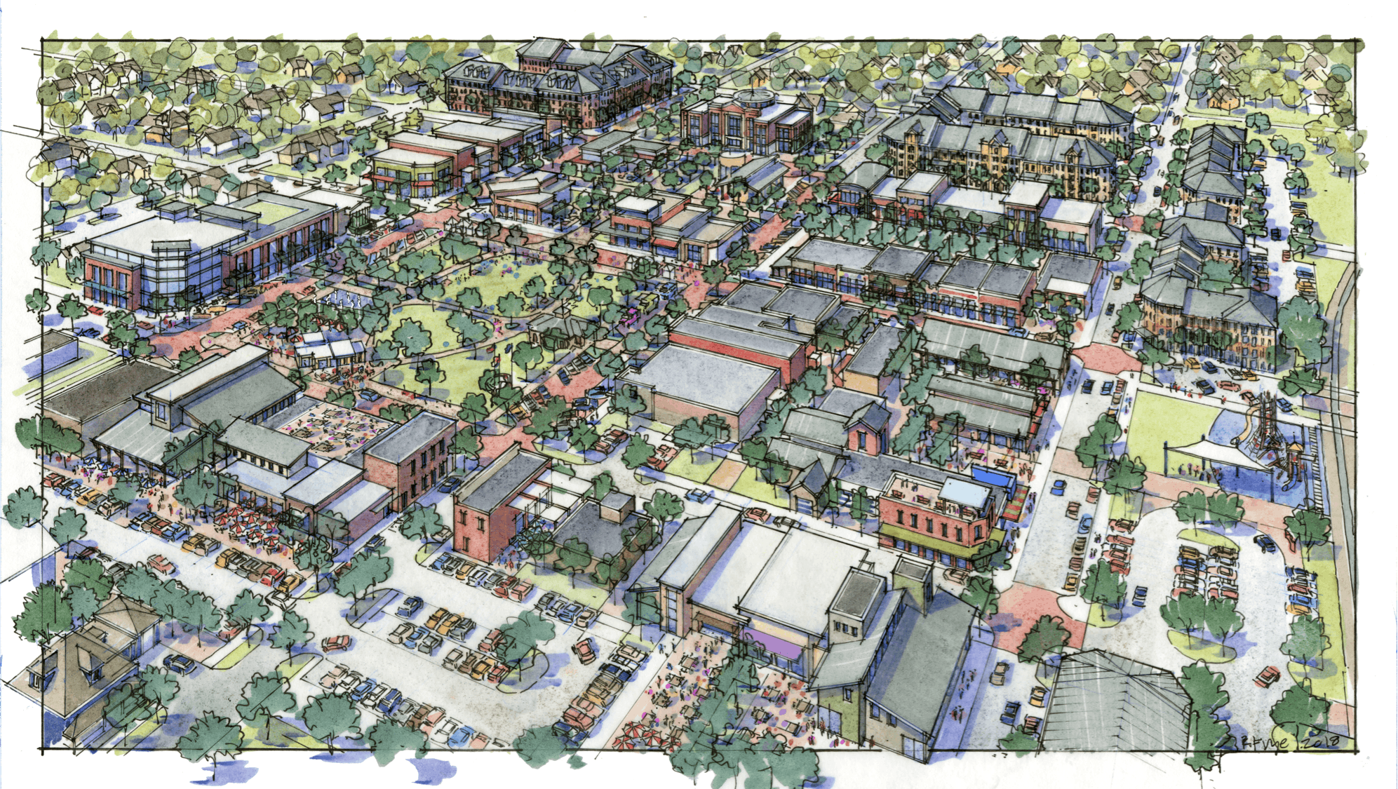 Downtown Core Rendering